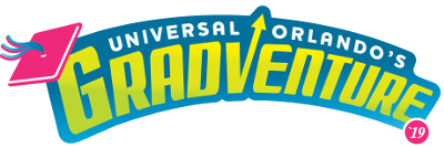 Sign up now for Universal Orlando's Gradventure MAY 3, 10, 17, 2019